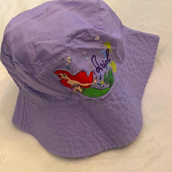 """Disney The Little Mermaid """"Ariel"""" Bucket Sun Hat"""